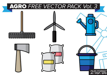 Agro Free Vector Pack Vol. 3 - Kostenloses vector #381171
