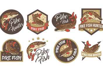 Free Pike Icons Vector - бесплатный vector #381201