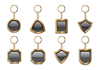 KEY CHAIN VECTOR - vector gratuit #381301