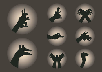 Free Shadow Puppet - Free vector #381401