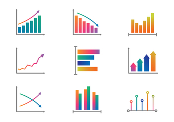 Free Color Graphs and Charts Vector - бесплатный vector #381541
