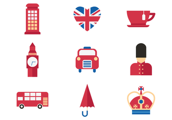 Free Great Britain Kingdom Icon Vector - vector gratuit #381851