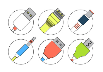 Connection Cables - Free vector #381911