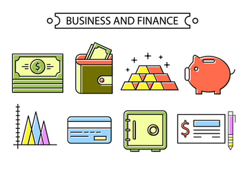 Banking And Finance - Free vector #381921
