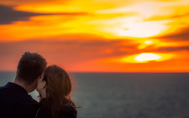Sunset Kiss - image #381991 gratis