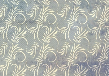 Gray Vector Western Flourish Seamless Pattern - vector gratuit #382001