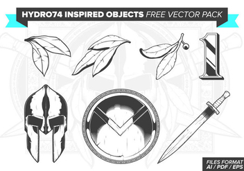 Hydro74 Inspired Objects Free Vector Pack - Free vector #382191