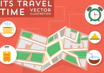 Free Travel Vector Elements - vector gratuit #382331