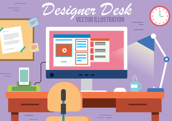 Free Designers Room Vector - Free vector #382531