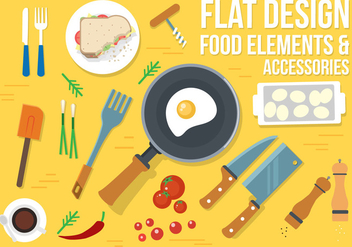 Free Food Vector Design - бесплатный vector #382551