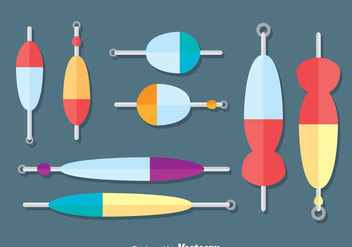 Fishing Lure Collection vector - бесплатный vector #382601