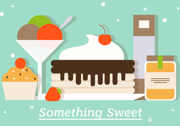 Free Sweets Vector Illustration - бесплатный vector #382721