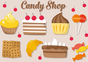 Free Cookie Vector Illustration - Free vector #382831