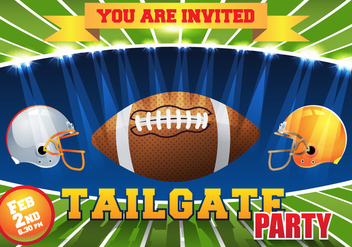 Tailgate Background Vector - Kostenloses vector #382931