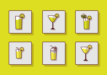 Fresh Drinking Icon - Kostenloses vector #383001