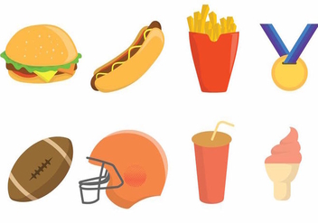 Free Tailgate Party Icon Set - vector #383191 gratis
