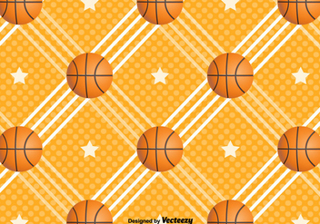 Basketball Vector Background - Kostenloses vector #383411