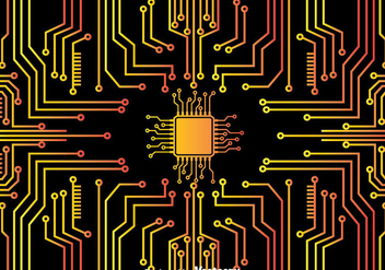 Microchip Background - Free vector #383561