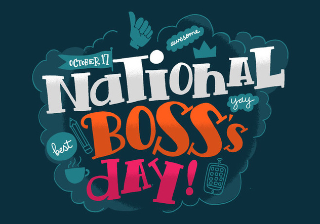 National Boss's Day - Free vector #383761