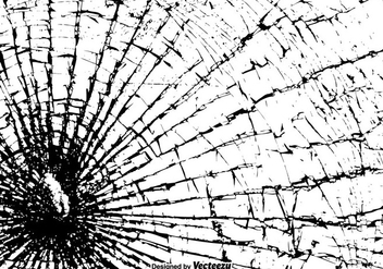 Free Vector Shattered Glass Texture - Kostenloses vector #384081