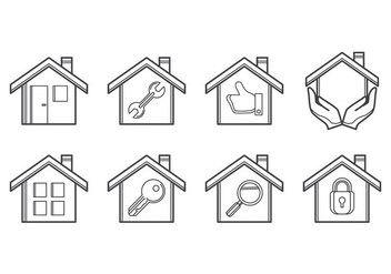 Free Housing Icon Vector - vector gratuit #384141