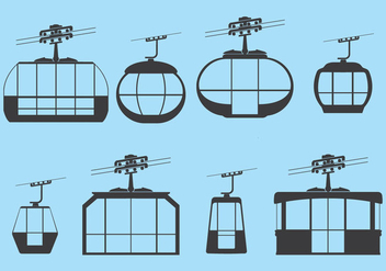 Free Cable Car - vector gratuit #384161