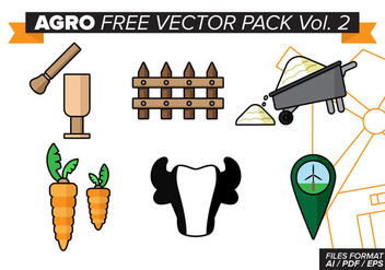 Agro Free Vector Pack Vol. 2 - бесплатный vector #384591