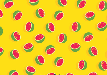 Guava Yellow Pattern - vector #384671 gratis