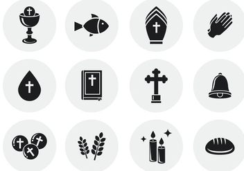Free Eucharist Icons - бесплатный vector #384741