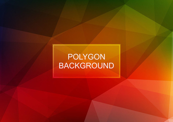 Free Vector Colorful Polygon Background - Kostenloses vector #384811