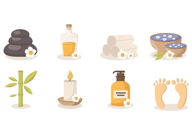 Free Spa Beauty and Health Vector - Free vector #384831
