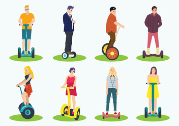 Free Segway Icons - Free vector #384911
