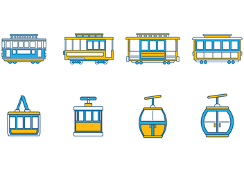 Free Cable Car Vector - vector #384931 gratis