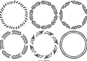 Cute Hand Drawn Style Frames - vector #384961 gratis