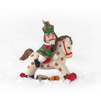 Nutcracker on horseback - image #385161 gratis