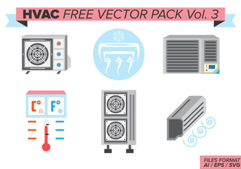 Hvac Free Vector Pack Vol. 3 - Kostenloses vector #385331