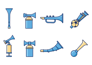 Free Cheering Horn Vector - Free vector #385421