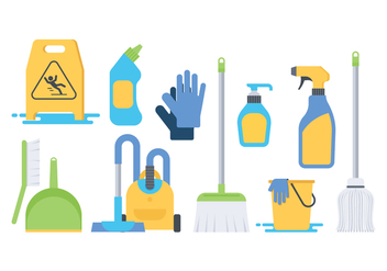 Free Cleaning Icon Vector - Kostenloses vector #385671