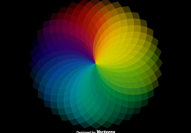 Vector Wheel Color Sampler - Free vector #385751