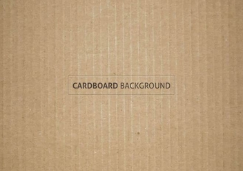 Free Vector Cardboard Texture - Free vector #385811