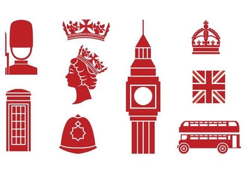 Free England Icons - Free vector #386051