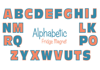 Fridge Magnet Vector Set - бесплатный vector #386211