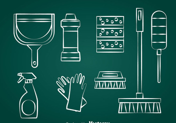 Clean Tools Vector - vector #386231 gratis
