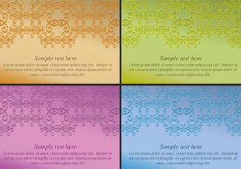 Ornaments Background - vector gratuit #386441