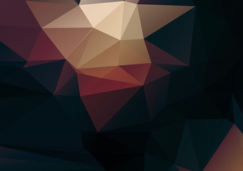 Free Vector Abstract Polygon Background - Kostenloses vector #386461
