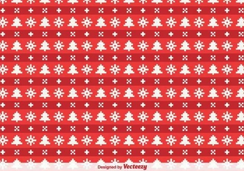 Christmas Pixelated Vector Background - Free vector #386611