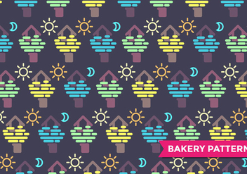 Treehouse Pattern Vector - Free vector #386631