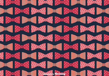 Bow Ties Background Vector - vector #386651 gratis