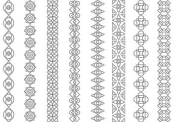 Free Celtic Ornament Pattern Vector - Kostenloses vector #386791