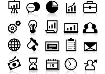Free Business Grow Up Icons Vector - Free vector #386841